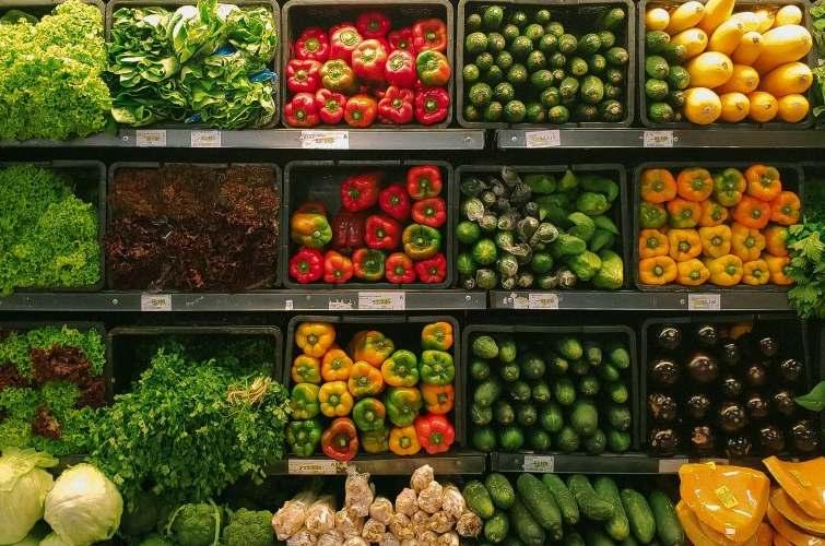 Magdas food Programme Februar Gemuese