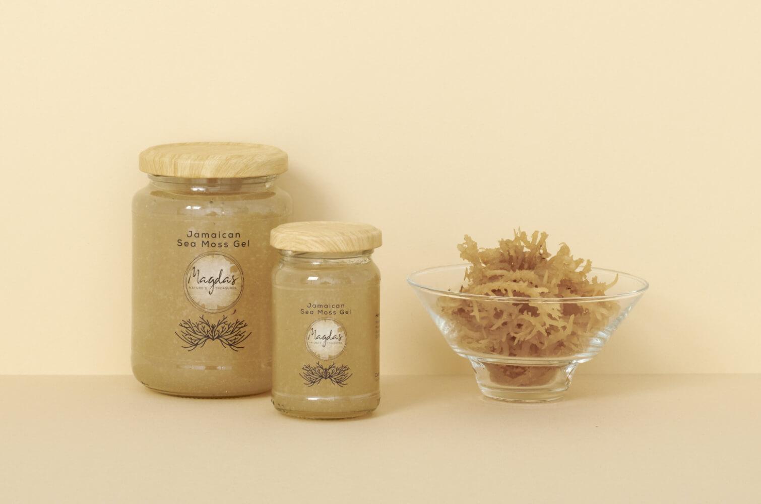 Magdas Natures Treasures - Jamaican Sea Moss Gel Pure + Mini